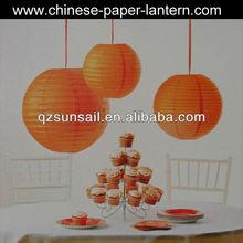 Best fashion Round Paper Lantern Lamp Home Decor