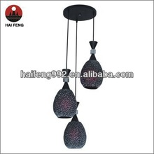 suspended lamp for decoration MD8158-3 bar lamp