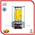 Eléctrica rotativa de maíz tostador parrilla de cocina y equipo en china eb-18-2 0086-13580508100