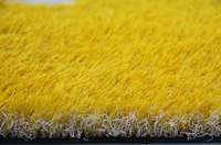 Red Blue Yellow White Pink Artificial Grass