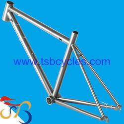 TSB-CBR1001 titanium road bicycle frame