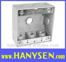 Double Gang Aluminum Weatherproof Junction Box