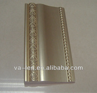 Silver PS indoor wall architectural lightweight foam polyurethane home decorative moulding