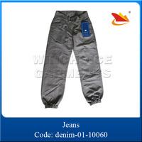 2015 fashion youth leisure original design wholesale high waist jeans parts