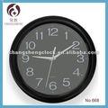 """Ce& rohs 12""""/30.5cm decorativo de alta calidad de cuarzo reloj de pared, aptos para el mercado europeo"""