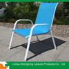 stackable aluminium garden chair
