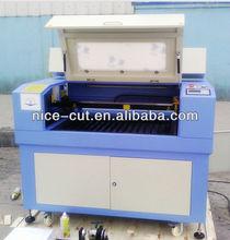 NC- E6090 plexiglass laser cutting machine with 80w laser tube