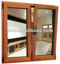 Aluminum apartent window