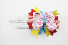 Fascinator hair bows with haedband