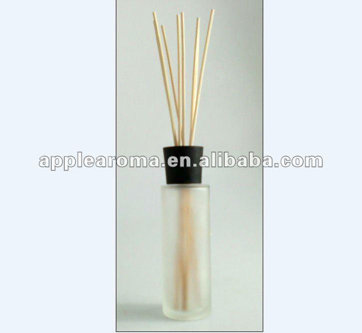 frasco de vidro elegante para a fragrância cana difusor