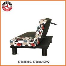 Sofá-cama multifuncional importados moldura de madeira maciça