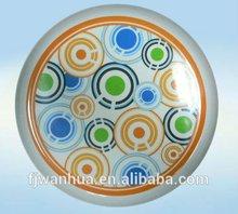 Custom printed dinner plates