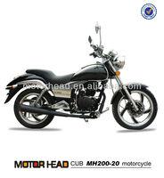 200cc motocicleta made in china chopper motocicleta,high quality 200cc cruiser motorcycle