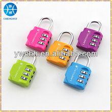 Luggage combination lock