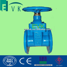 Resilient Seat Gate Valve PN16 Cast / Ductile Iron Material