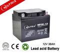 12v 38ah enersys de la batería