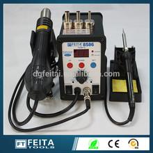 FT-8586 hot air smd bga rework soldering/solder station 2 in 1 unit