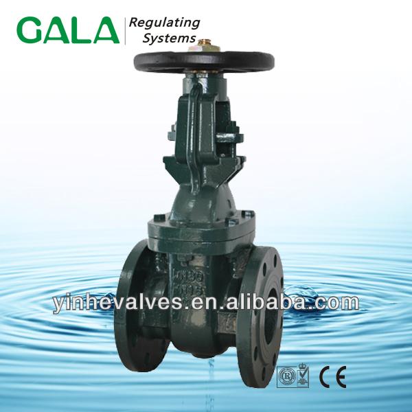 os &y cast iron stem gate valve