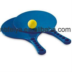 plastic racket beach