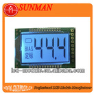 garmin lcd screen with 3 numbers +1radix point+2 prompt