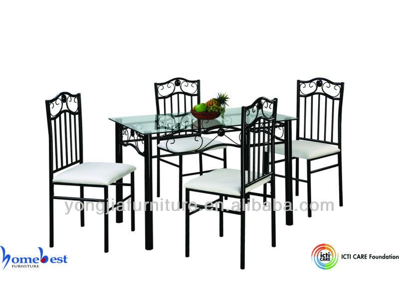 Muebles de vidrio y metal 20170816110930 for Mesas de comedor de vidrio y metal