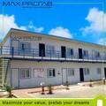 中国鋼鉄建設usd200クーポン販売のための安価なプレハブの家