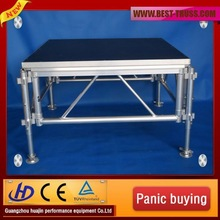 Hot selling reasonable price famouse aluminum stage frame wooden platform outdoor stage