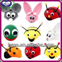 China Manufaturer Cute Animal Children Halloween Party Cap