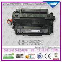 OEM toner cartridge CE255X for HP P3010/P3015/P3016 printer