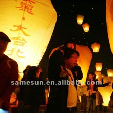 Bio fireproof paper sky lantern