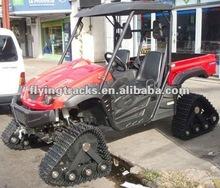 ATV/UTV vehicle rubber tracks system
