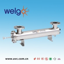 Electrical Auto Cleaning System Drinking Water Treatment Plant Ultraviolet Sterilizer