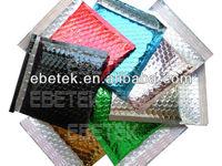 Sale colorful bubble envelope, self seal aluminum envelopes