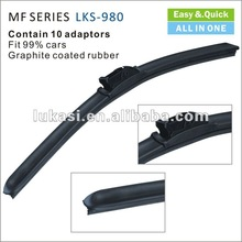 "19"" wholesale wiper blades multifunctional wiper blade graphite coated"