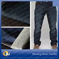 Shtex- 45 11oz venta al por mayor de poliéster de algodón denim jeans stretch de fabricante