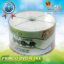 Guangzhou Princo best price blank dvd printable