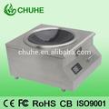 concave à haut rendement électrique cuisinière àinduction commercial