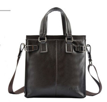 Latest Fashion Stylish Man's Business Document Handbag/Professional Leather Factory with cheap price
