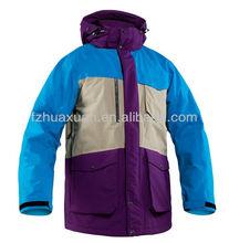 promotion hot selling light padding big size winter active ski clothing