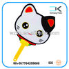 China ! Animal shape decorating plastic PP hand fans wholesale