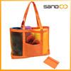 clear mesh cheap beach bag, wholesale fashion lady beach tote bag