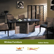 Rattan Base Dining Tables Modern