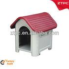 ZTPC PP Plastic outdoor dog kennel
