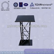 Aluminum /steel podium stand
