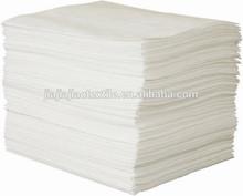 Fine fiber absorbents