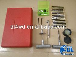 auto accessory car tubeless tire repair tool kit