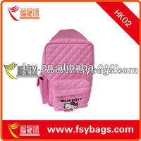Kids fashion heloo kitty leather bag for girls