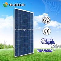 Bluesun high efficiency 300W 290W poly solar panel price
