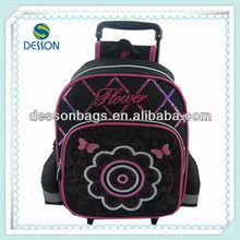 Fashion 2013 New School trolley Bags For Teenage Girls