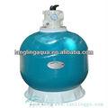 B800 frp filtro de areia para tratamentodaágua/filtro de areia do tanque para a aquicultura